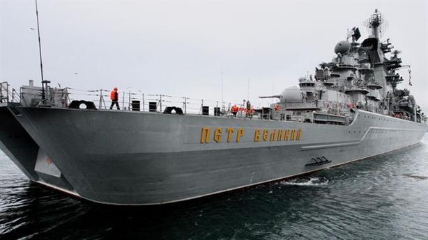 7 tàu chiến siêu hạng của Hải quân Nga