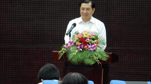 Chủ tịch Đà Nẵng phê bình thẳng cán bộ vắng họp