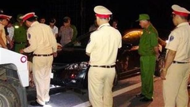 Say, xúc phạm CSGT lái xe bị xử phạt 20 triệu đồng