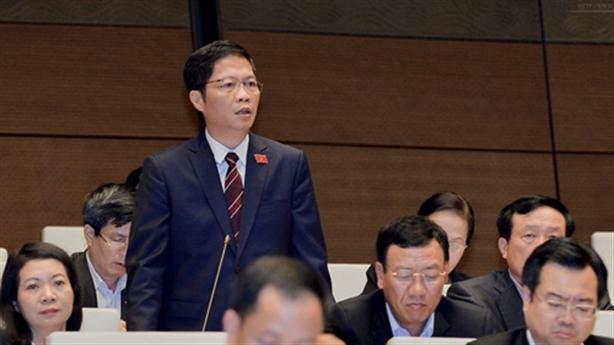 Kỷ luật nguyên Bộ trưởng: Quốc hội sẽ trả lời