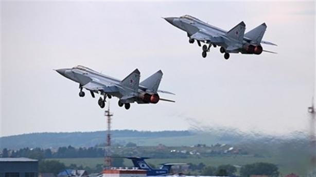 MiG-31 đến Syria chuẩn bị cho tình huống xấu