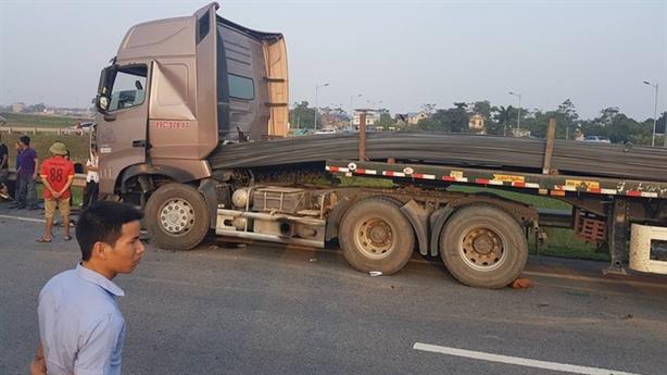 Thảm nạn cao tốc Hà Nội - Thái Nguyên: Xe dừng đột ngột