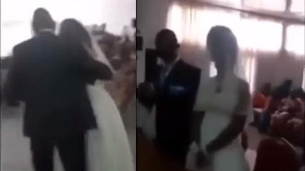 Bồ của chú rể giả cô dâu vào đám cưới gây lộn