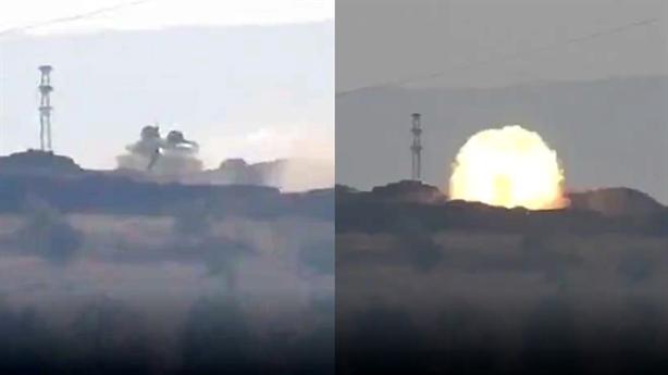 T-90A đánh chặn TOW ngoạn mục tại Syria