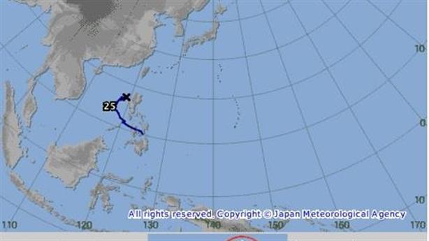 Bão số 9 giật cấp 11, Nhật dự đoán hướng đi khác?