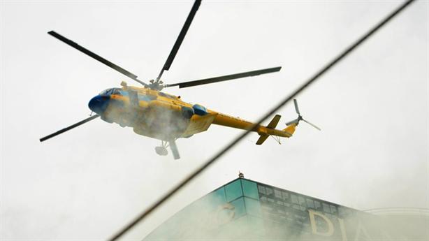 Thuê trực thăng chữa cháy: Không khả thi và thiếu hiệu quả