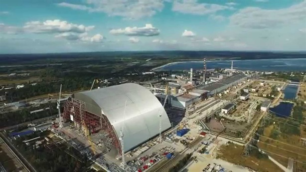 'Quan tài' khổng lồ chôn nhà máy điện nguyên tử ở Ukraine