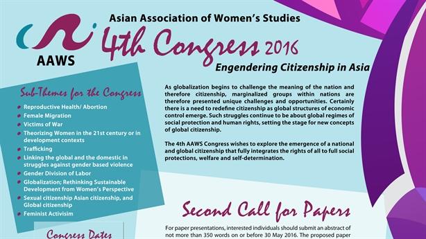 Phụ nữ châu Á chung tay vì bình đẳng giới đúng nghĩa