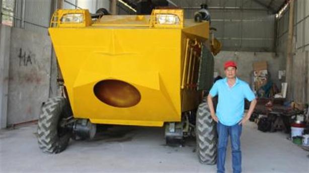 Chủ nhân xe bọc thép Made in VietNam đón niềm vui mới