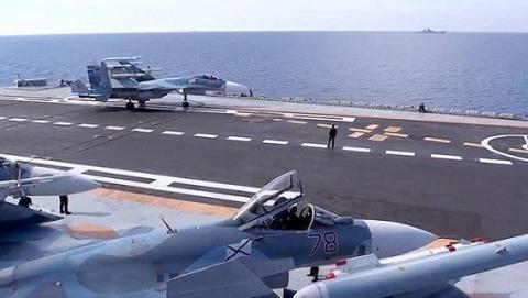 Su-33 rơi do phi công kém hay cáp hãm đà rởm?