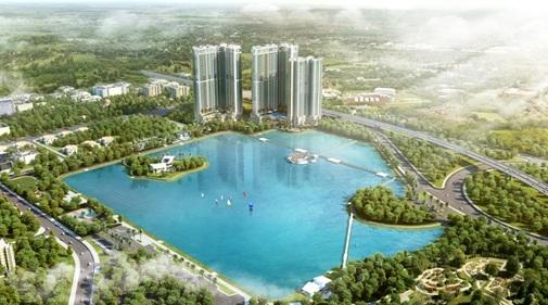 Vingroup ra mắt dự án ven hồ đẳng cấp quốc tế