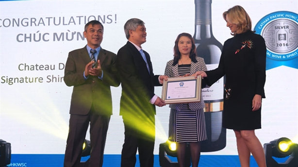 Rượu vang Việt chinh phục giải thưởng quốc tế Cathay Pacific