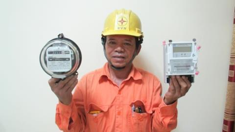 Công tơ điện của EVN chập chờn: Hàng của nước nào?