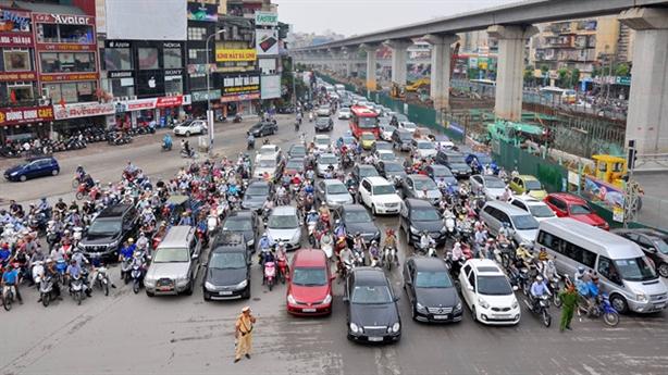 Hà Nội thu phí ôtô vào nội đô: Sở GTVT phân trần