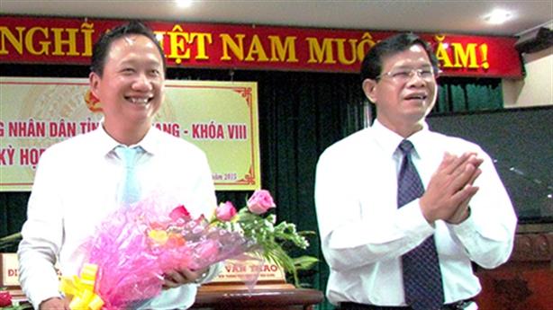 Lãnh đạo Hậu Giang nhận kỷ luật vụ Trịnh Xuân Thanh