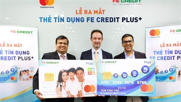FE CREDIT ra mắt Thẻ tín dụng tiện ích PLUS+ MasterCard