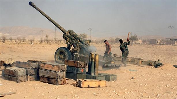 Nồi hơi Palmyra: Tiger hợp binh, Syria tổng lực tái chiếm