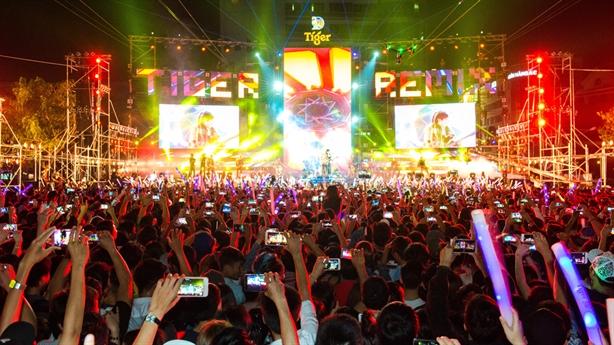 Tiger Remix TPHCM: Siêu đại nhạc hội của những kỷ lục!
