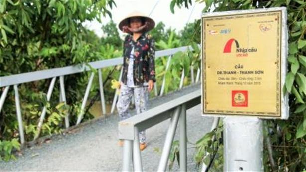Đặt tên cầu theo Dr.Thanh: Không còn nghĩa từ thiện