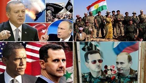 Nga bị ru ngủ trong quan hệ với Thổ và người Kurd?
