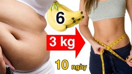 Người Nhật dùng chuối giảm cân: 3kg trong 10 ngày!