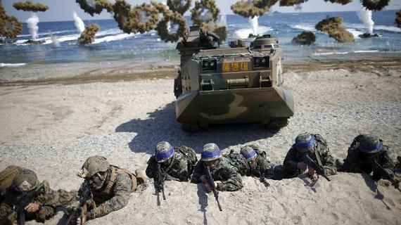 Mỹ-Hàn lập đội đặc nhiệm ngàn quân ám sát ông Kim Jong-un