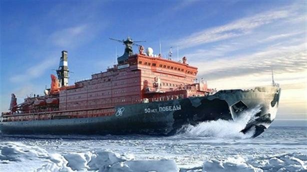 Tàu phá băng Nga sẵn sàng cho trận chiến Vùng Cực
