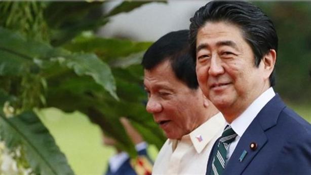 Nhật Bản rót tiền vào Philippines, lưu ý chuyện Biển Đông