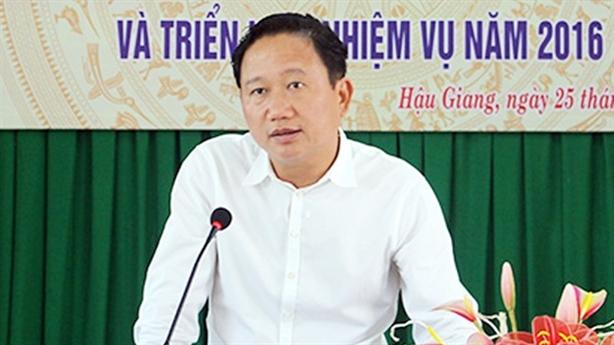 Vụ ông Trịnh Xuân Thanh: Thủ tướng kỷ luật 2 Thứ trưởng