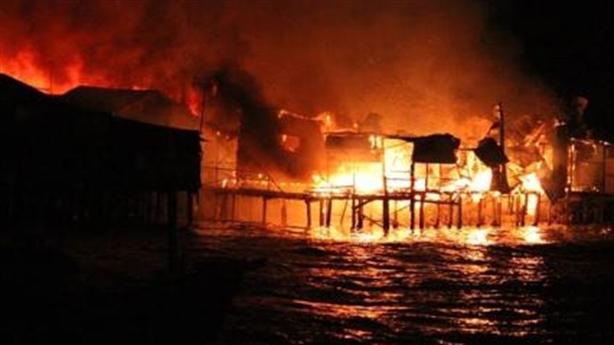 Cháy lớn ở Nha Trang: Không có lối vào chữa cháy
