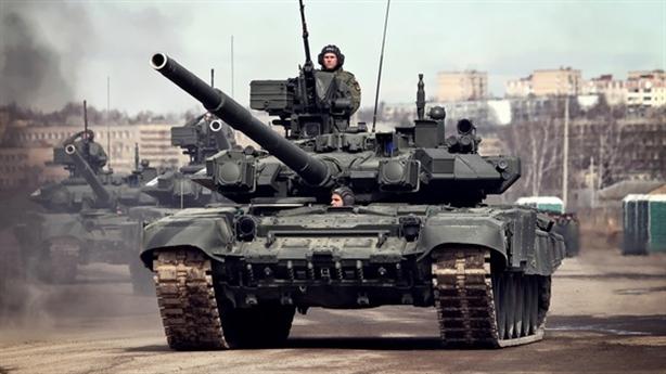 Nga biến T-90 thành pháo đài trong chiến tranh đô thị