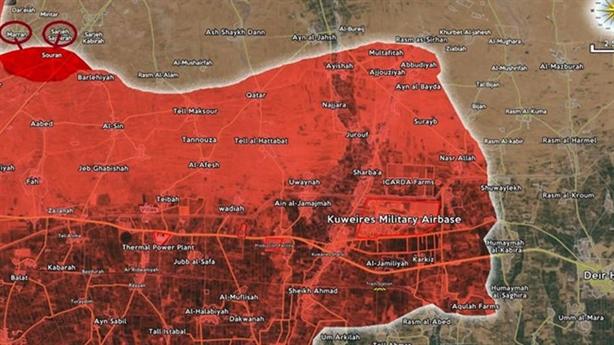Chiến sự Syria: Quân Assad khép chặt Al-Bab, vây hãm Deir Ezzur