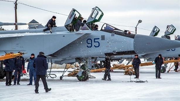 MiG-31 sau nâng cấp có tầm giám sát gấp đôi F-22