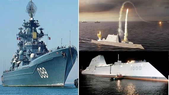 Lão tướng Kirov/Nga đủ sức hạ gục Zumwalt/Mỹ?