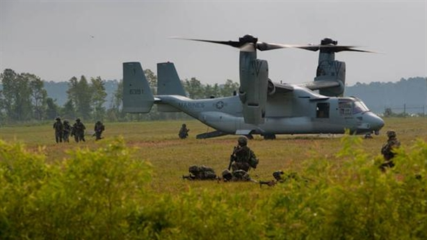 Bị tấn công, SEAL Mỹ phá hủy Osprey chạy thoát thân