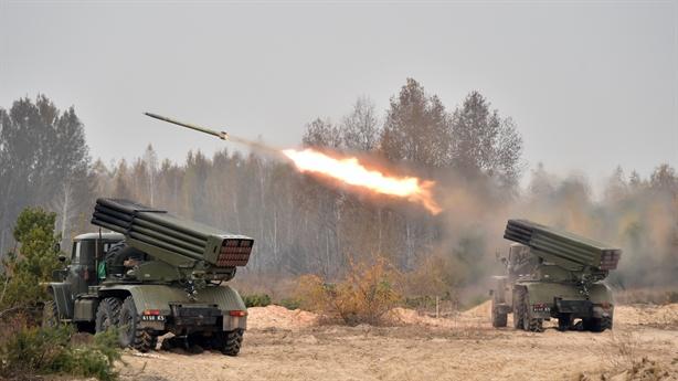 Vũ khí hủy diệt biển người Ukraine đỏ lửa miền Đông