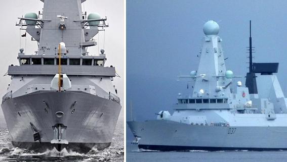 Type 45 Anh vào Biển Đen dễ bị tàu ngầm Nga…làm thịt