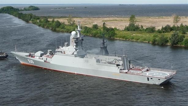Nga thử nghiệm chiến hạm có thể được Việt Nam chọn