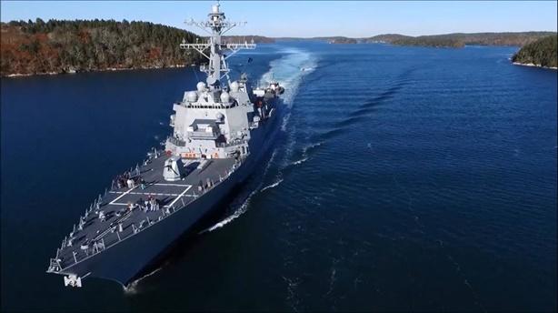 Cách hệ thống chiến đấu tàu DDG-115 tấn công mục tiêu