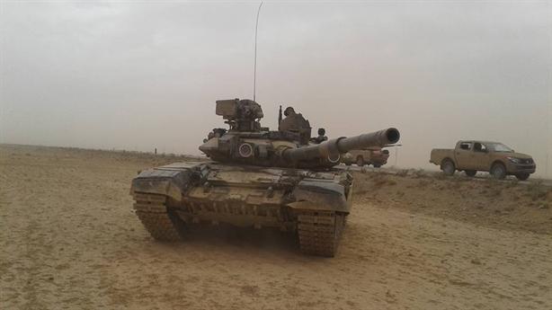 Nga biến T-72 thành pháo đài trong đô thị