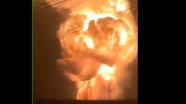 Clip nhà máy hóa chất Trung Quốc nổ tung