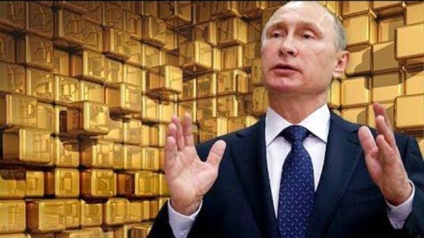 Càng cấm vận Nga càng tích nhiều vàng
