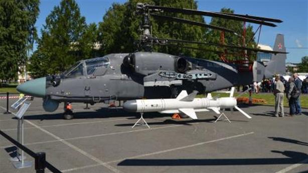 Ka-52K được thử nghiệm gì khi đến Syria