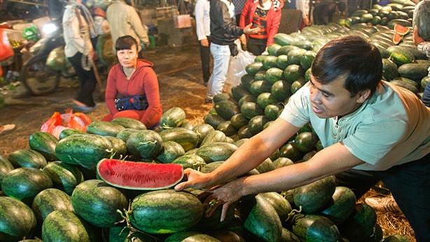 Hà Nội kiến nghị xây chợ đầu mối 250 triệu USD