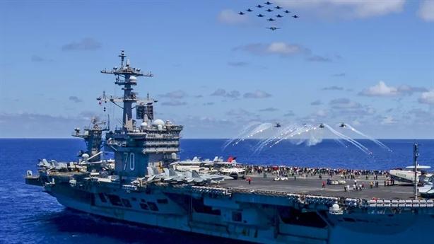 Biết Mỹ tuần tra, Trung Quốc tập trận 'Tấn công bất ngờ'