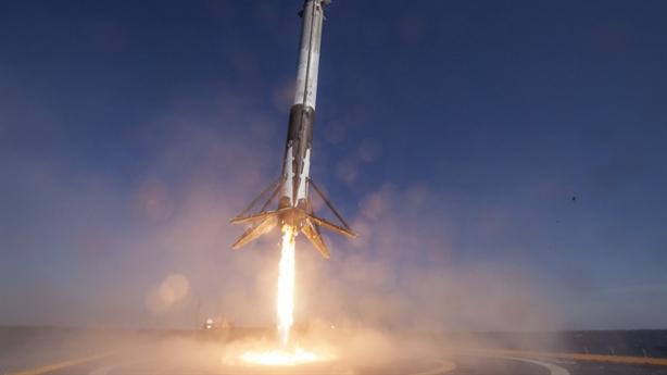 Nga không còn đàm tiếu về tên lửa Falcon 9