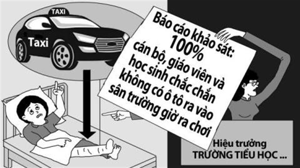 Tài xế taxi đã khai nhận, lời nào cho cô hiệu trưởng?