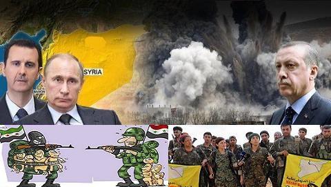 Mỹ-Thổ đấu đá giành Manbij, cướp đất Syria cho đồng minh