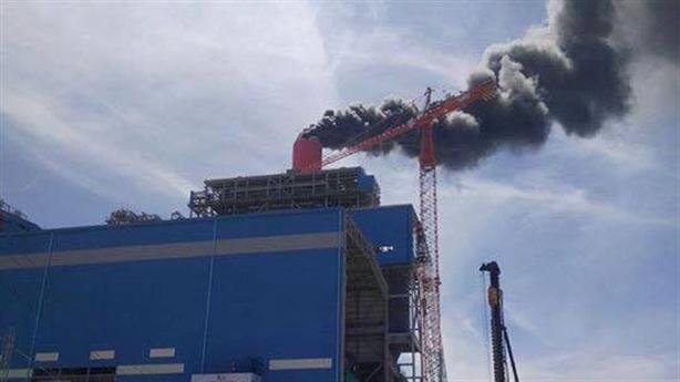 Cháy ở nhà máy nhiệt điện Vĩnh Tân: Trách nhiệm tổng thầu?