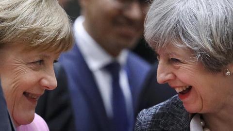 Châu Âu và Anh đã quyết ly hôn